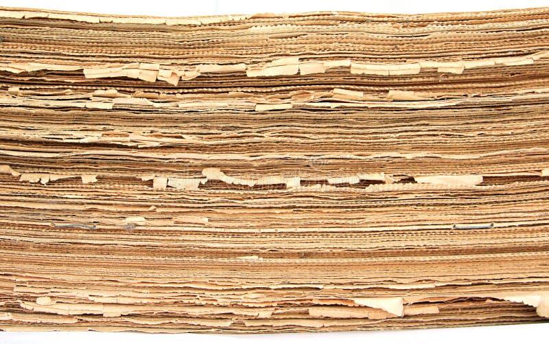 alte zeitungen stockbild bild von schmutzig teppich 11021467. Black Bedroom Furniture Sets. Home Design Ideas