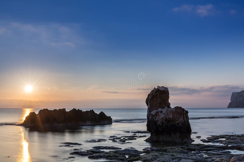 Altea Spagna fotografia stock