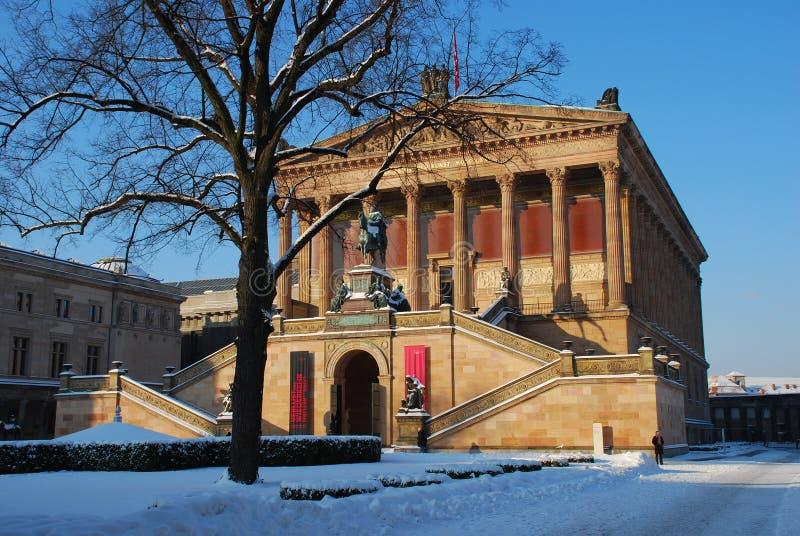 alteberlin germany nationalgalerie fotografering för bildbyråer