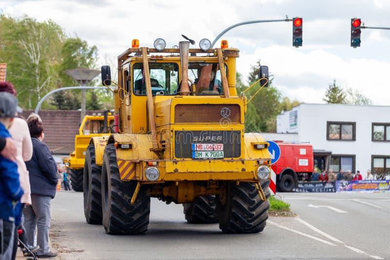 Russian Kirowez K 700 tractor royalty free stock photo