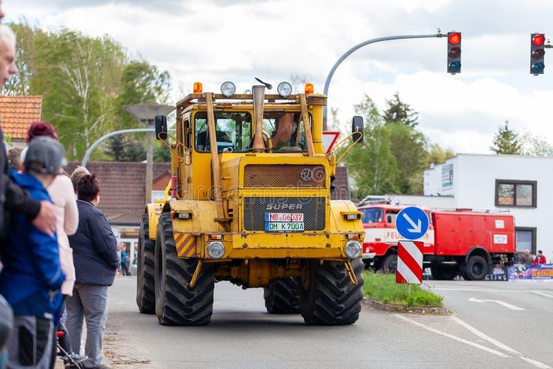 Russian Kirowez K 700 tractor stock images