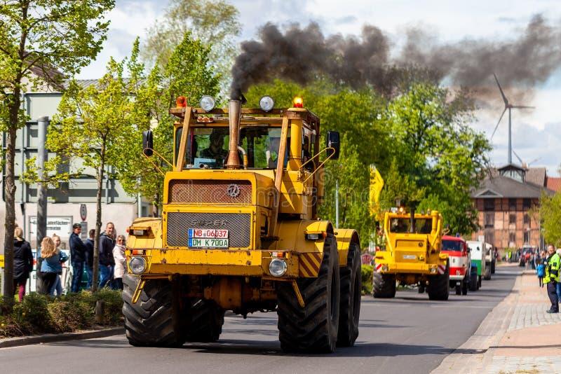 Russian Kirowez K 700 tractor stock image
