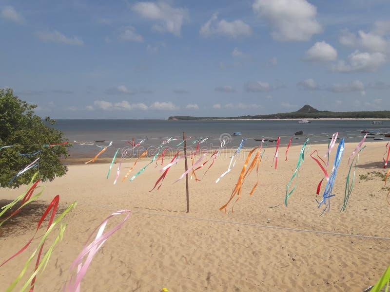 Alter делает пляж Chão стоковая фотография rf