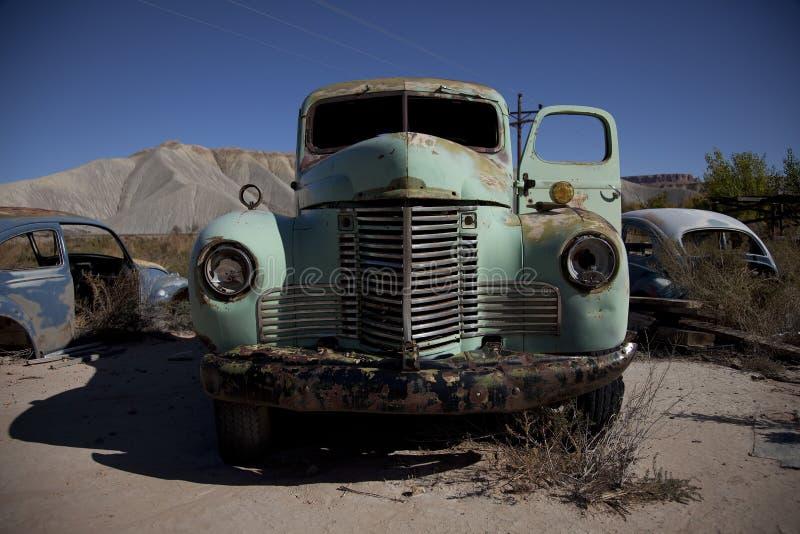 Alter Antike-LKW, alter Lastwagen lizenzfreie stockfotografie