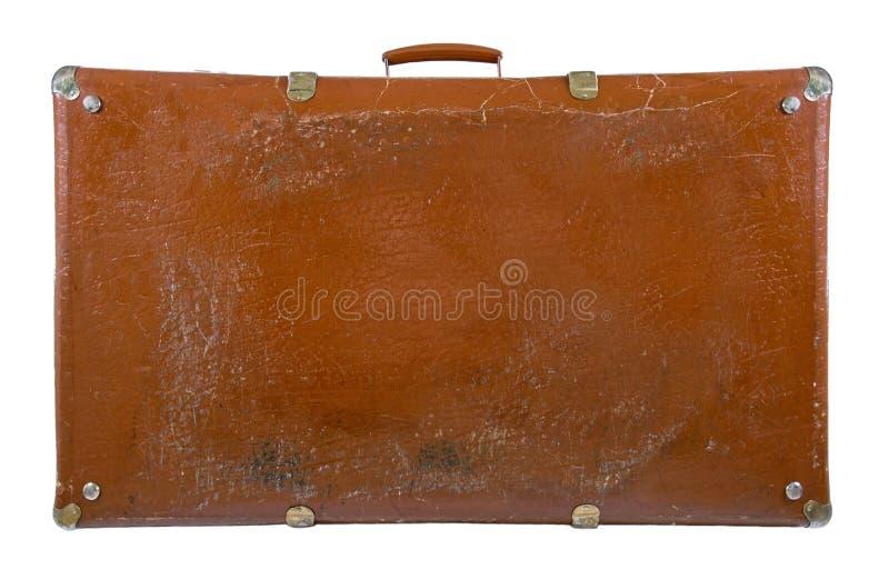 Alter antiker Koffer stockbild
