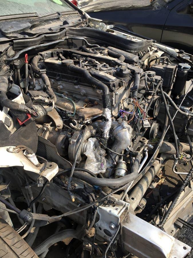 Alter Automotor lizenzfreie stockfotografie
