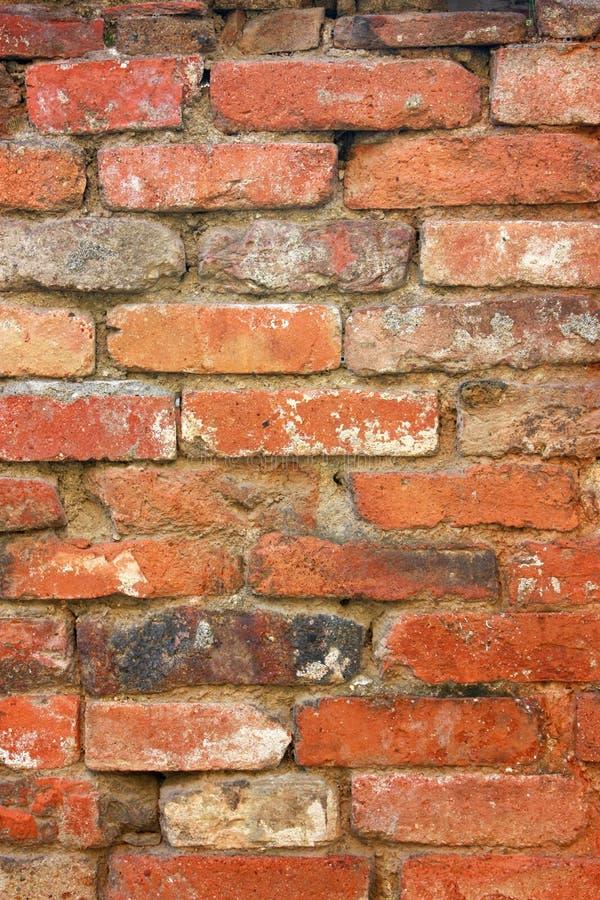 Alter Backsteinmauerhintergrund stockbild