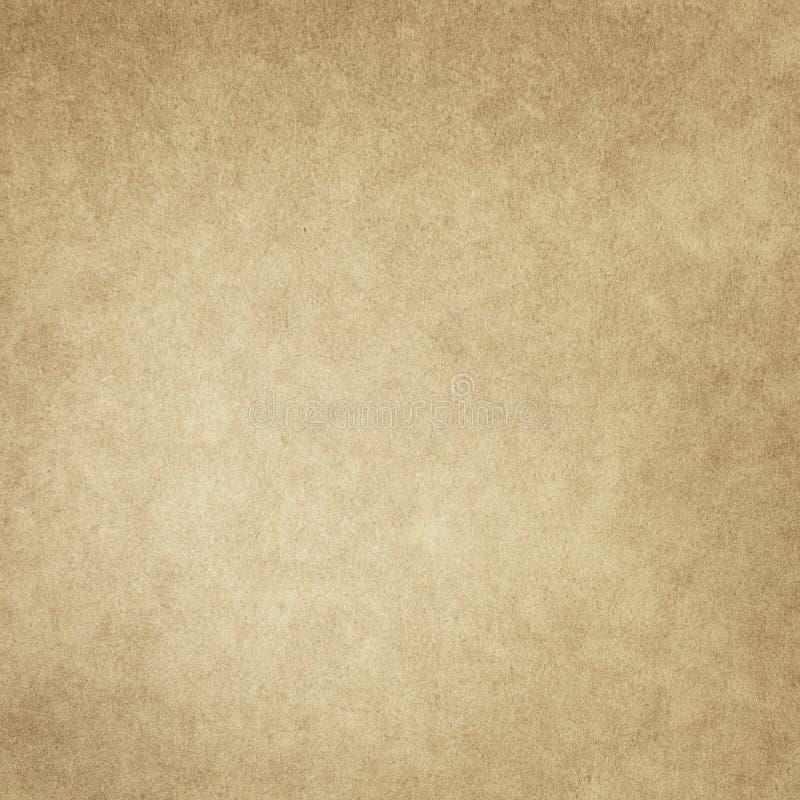 Alter beige Papierhintergrund der Schmutzbeschaffenheit stock abbildung