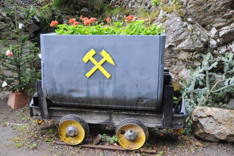 Alter Bergbau-Lastwagen lizenzfreie stockfotografie