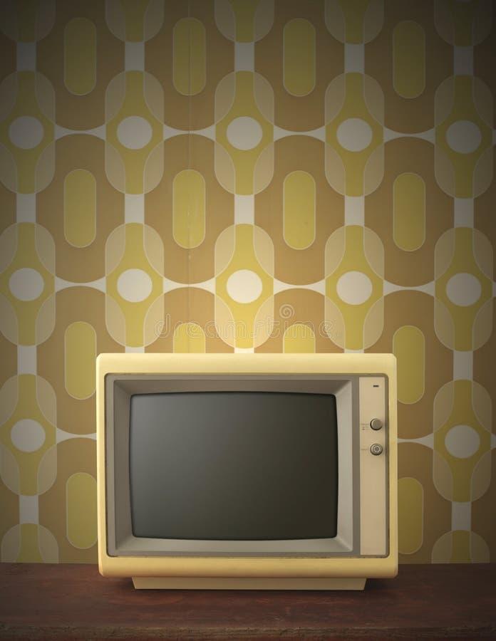 Alter Bildschirm stockfotografie