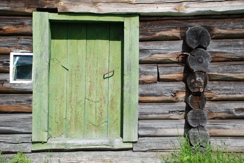 Alter Blockhouse lizenzfreie stockfotos
