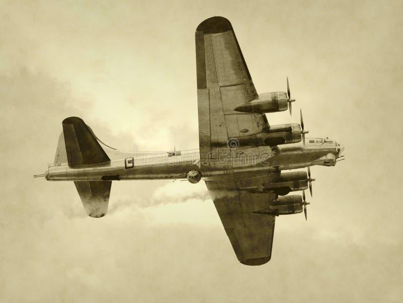 Alter Bomber stockbilder