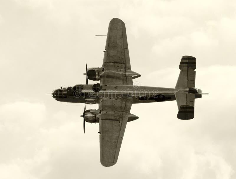 Alter Bomber lizenzfreie stockfotografie