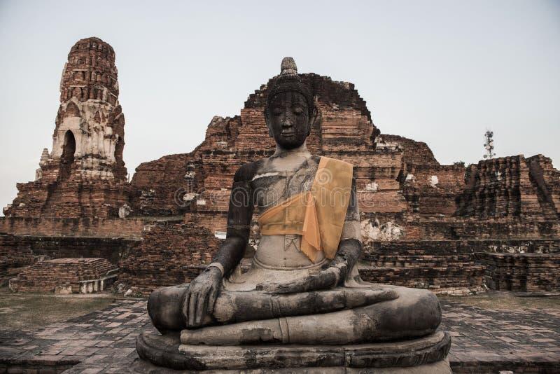 Alter Buddha stockbild