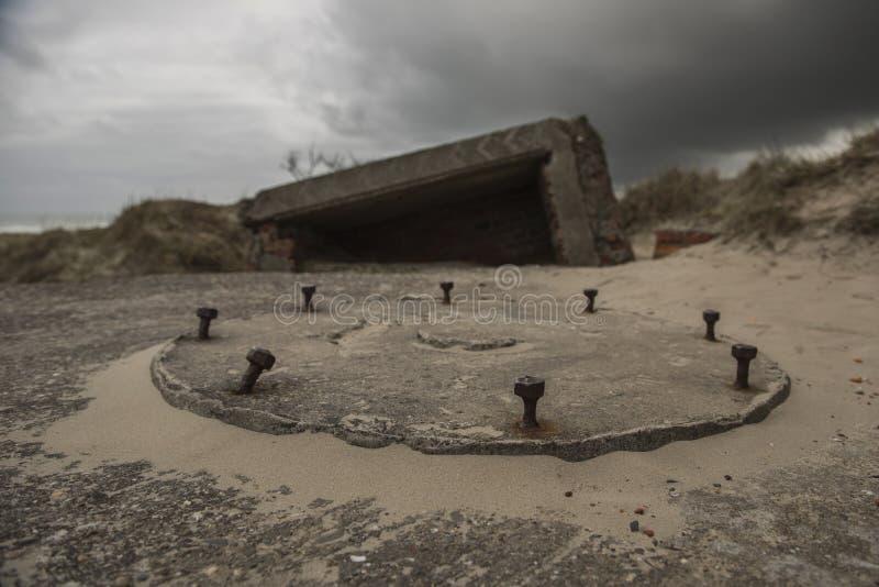 Alter Bunker lizenzfreie stockfotos