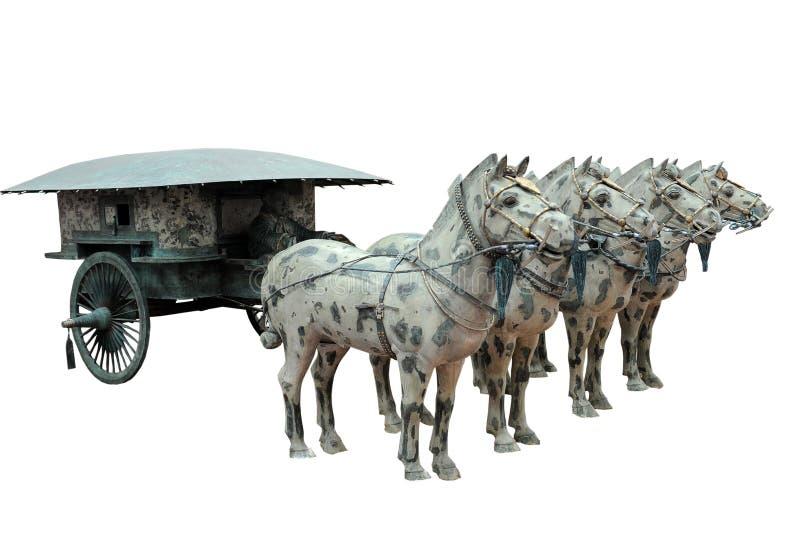 Alter Chariot lizenzfreies stockfoto