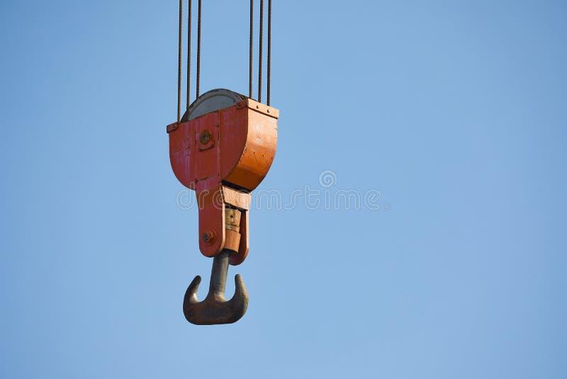 Alter Crane Hooks lizenzfreie stockfotografie