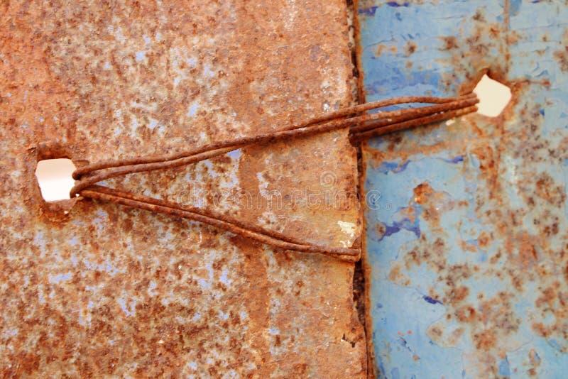 Alter Eisenhintergrund lizenzfreies stockbild