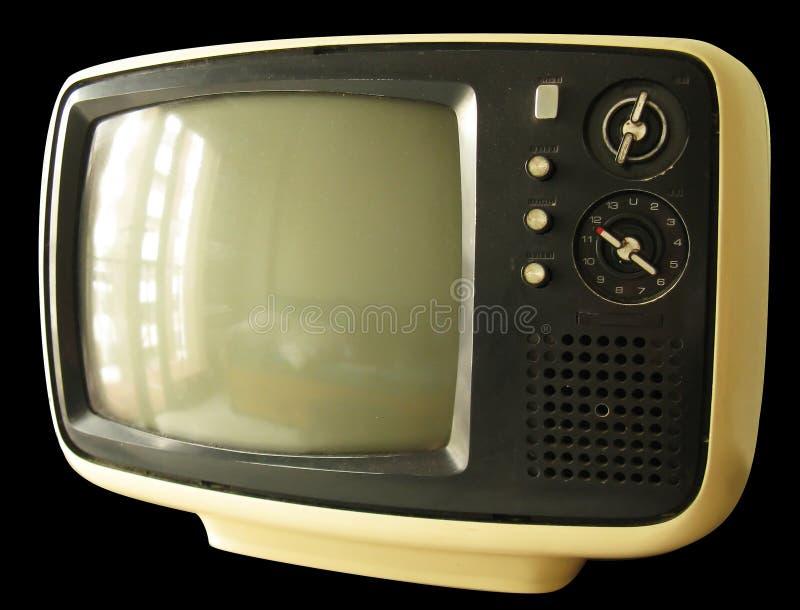 Alter Fernsehapparat lizenzfreies stockfoto