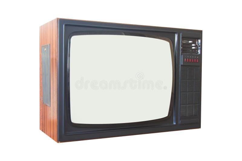 Alter Fernseher lizenzfreie stockfotografie