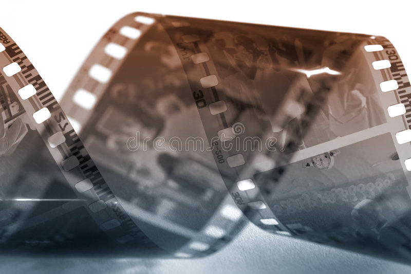 Alter Film stockbild