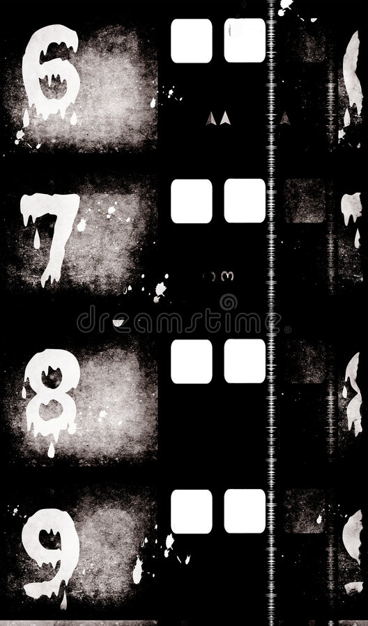 Alter Film Film stockfotografie