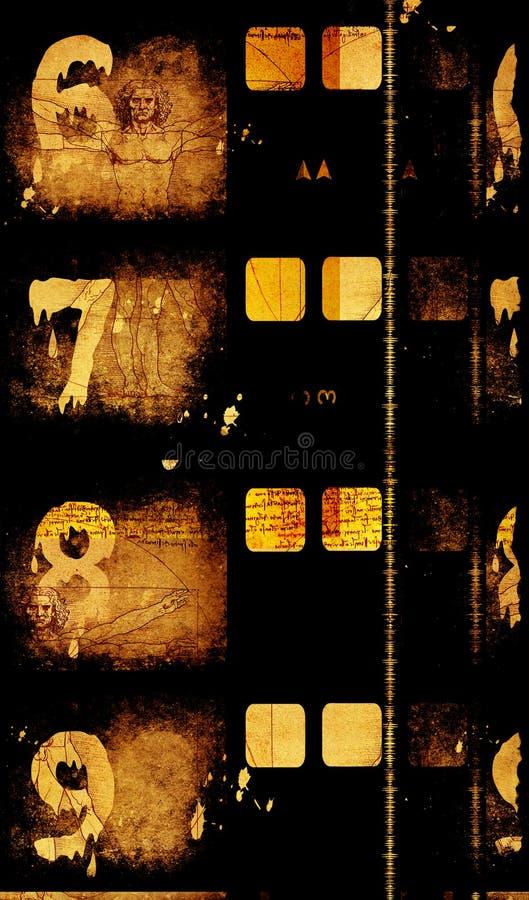 Alter Film Film stockfoto