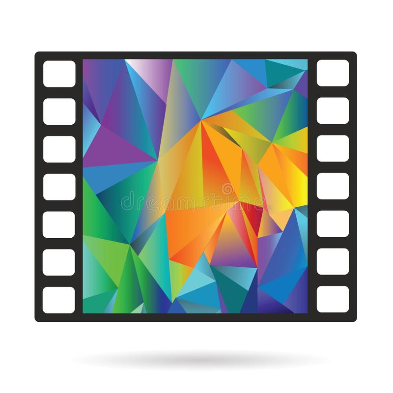 Alter Film-Streifen vektor abbildung