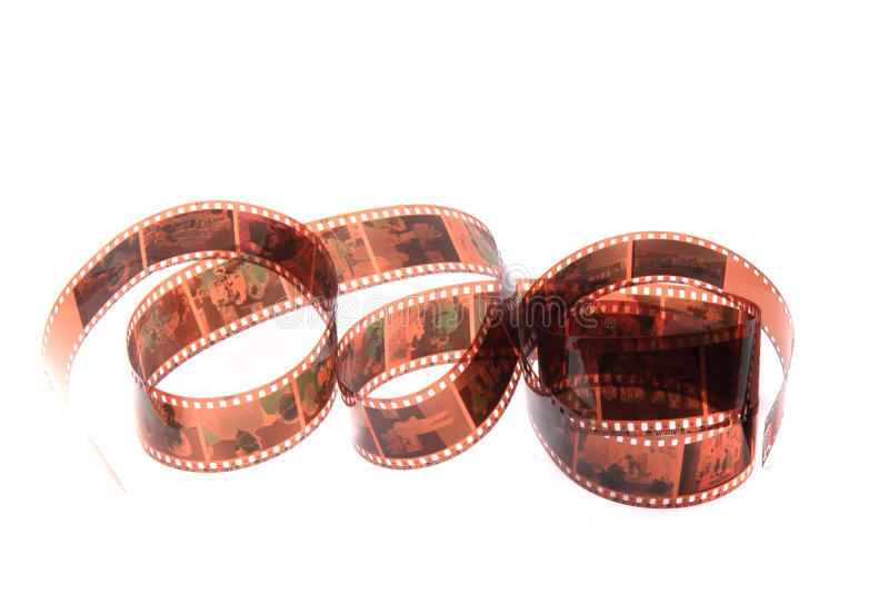 Alter fotographischer Film lizenzfreie stockbilder