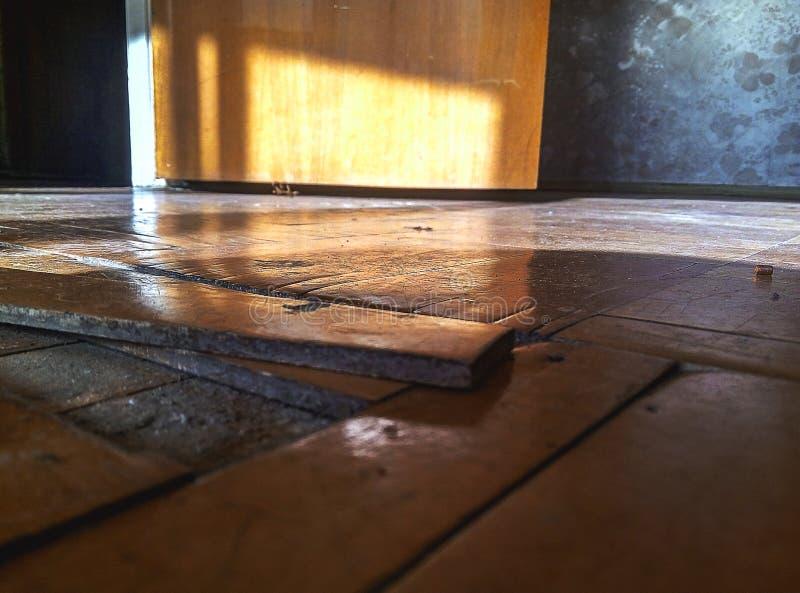 Alter Fußboden stockfotos
