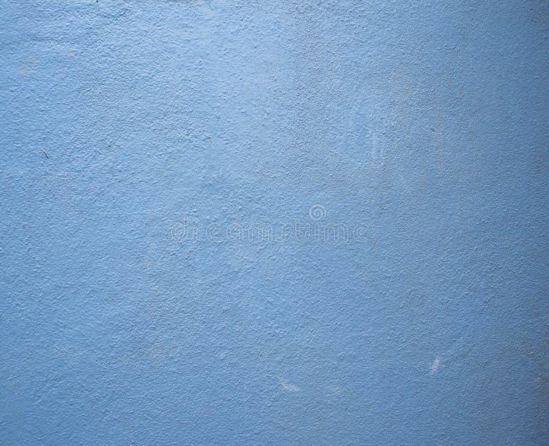 Alter gemalter blauer Betonmauerhintergrund stockfoto