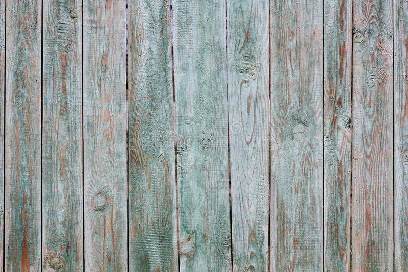 Alter gemalter Zaun lizenzfreie stockbilder
