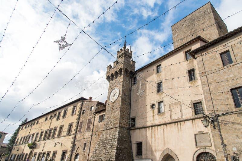 Alter Glockenturm lizenzfreies stockbild