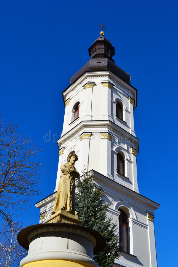 Alter Glockenturm in Pinsk stockfoto