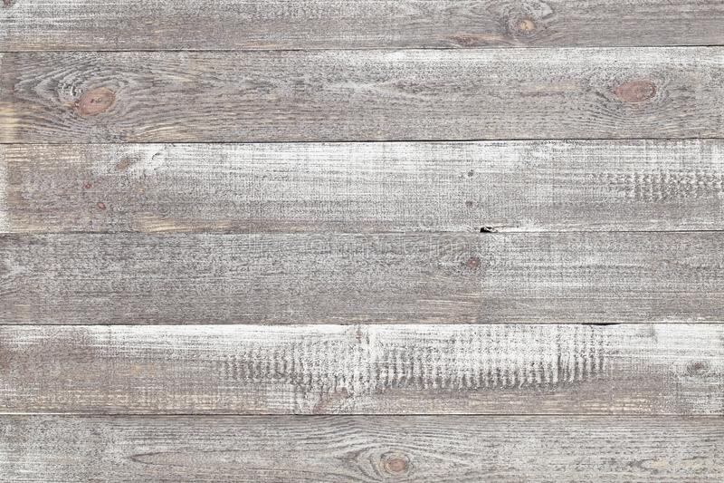 Alter grauer hölzerner Hintergrund, rustikale Holzoberfläche mit Kopienraum stockfotografie