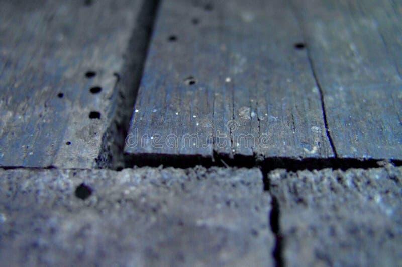 Alter hölzerner Fußboden lizenzfreies stockfoto