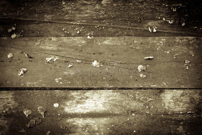 Alter hölzerner Fußboden lizenzfreie stockfotografie