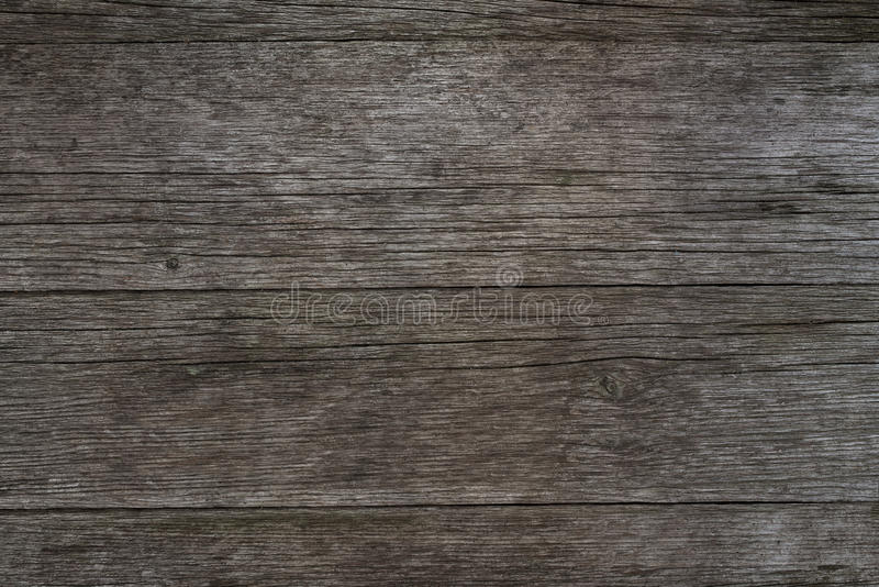 Alter hölzerner Hintergrund, rustikale Holzoberfläche mit Kopienraum lizenzfreies stockfoto