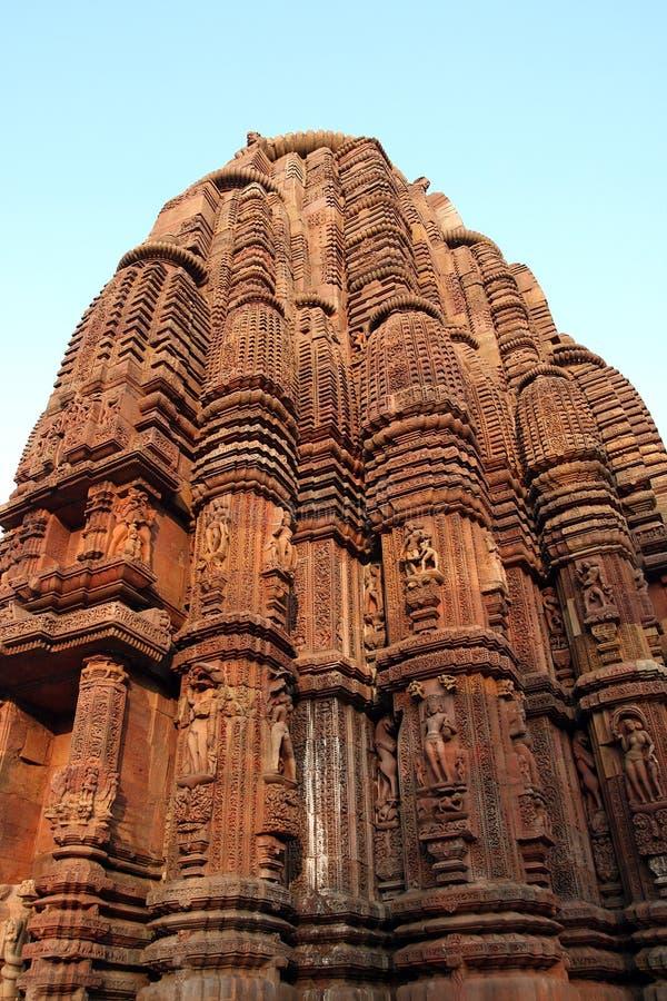 Alter hinduistischer Tempel bei Orissa, Indien. stockfotos