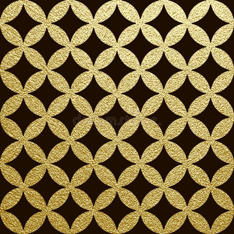 alter Hintergrund Abstrakter Goldhintergrund lizenzfreie abbildung