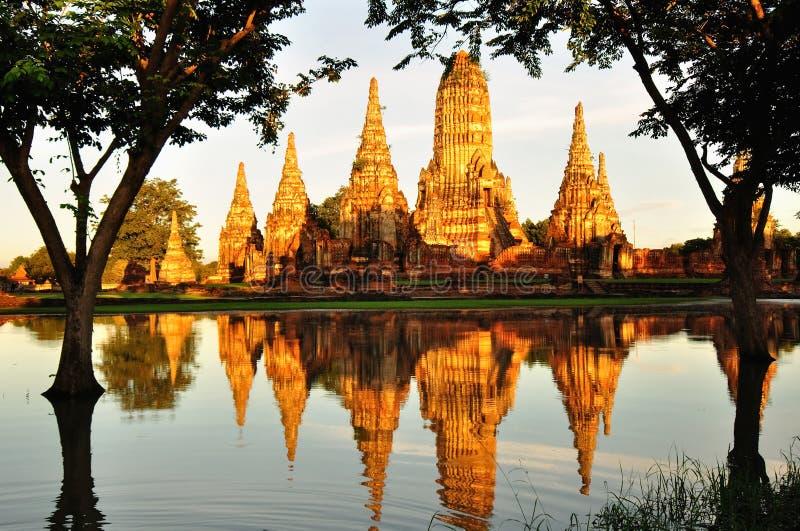 Alter historischer Tempel lizenzfreies stockbild