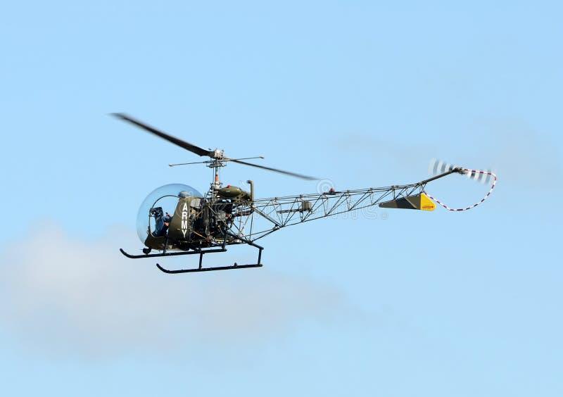 Download Alter Hubschrauber stockfoto. Bild von flug, fifties - 27732472