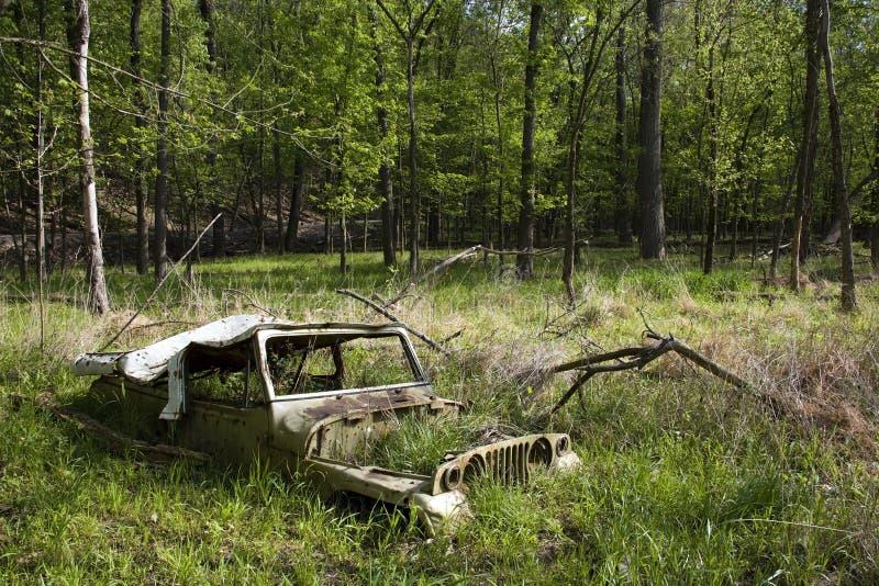 Alter Jeep stockbild
