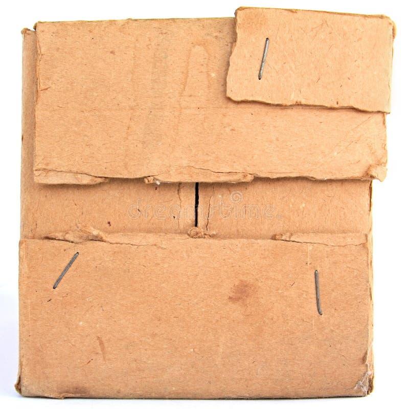 Alter Karton stockbilder