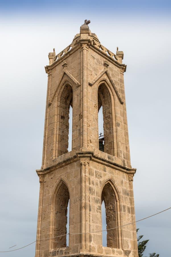 Alter KlosterGlockenturm, Zypern lizenzfreie stockfotografie