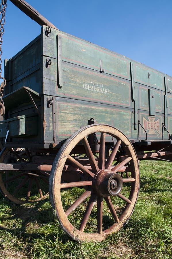 Alter Lastwagen stockbild