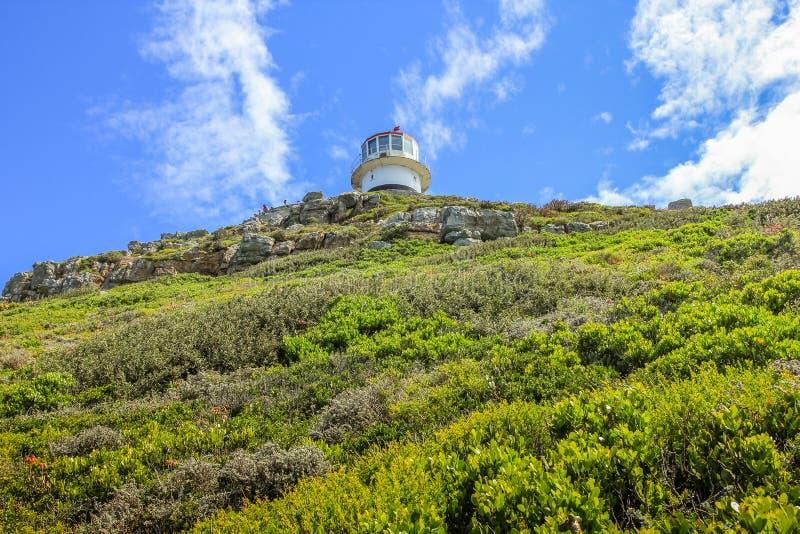 Alter Leuchtturm des Kap-Punktes lizenzfreie stockfotos