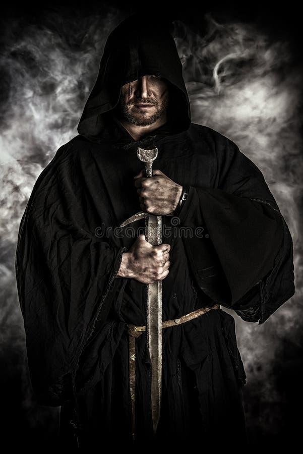 Alter Mönch lizenzfreies stockfoto