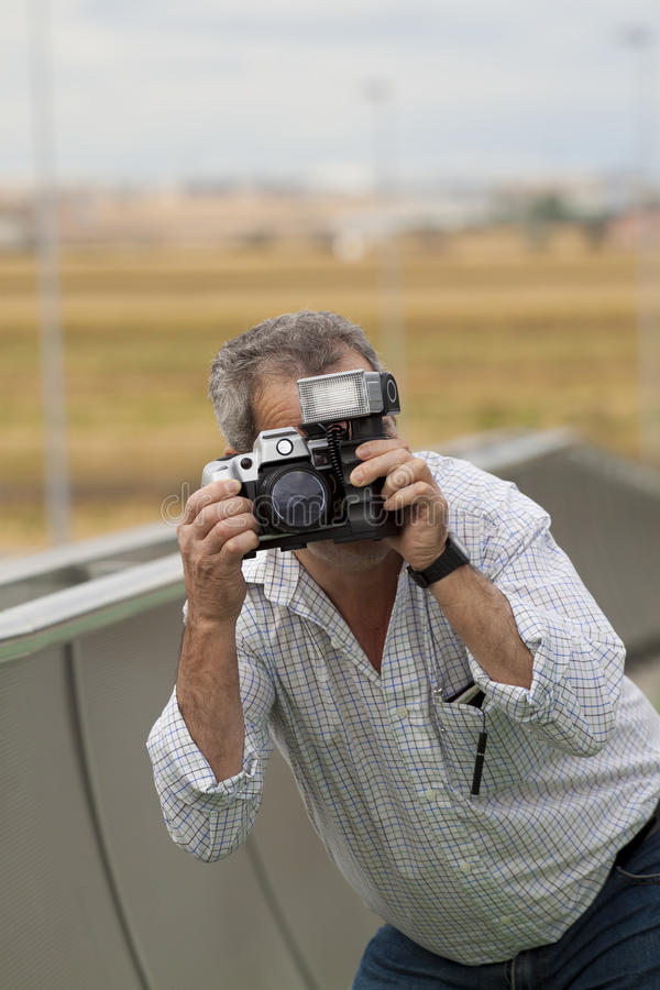 Alter Mann stockfotos