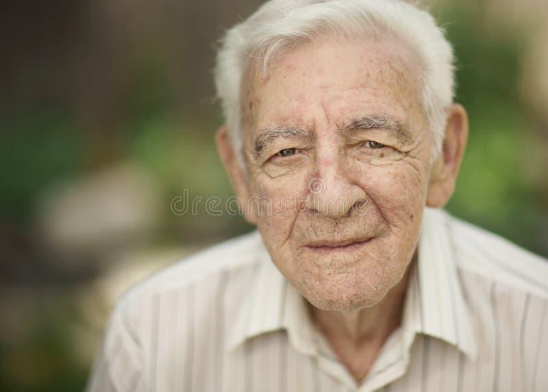 Alter Mann stockfotografie